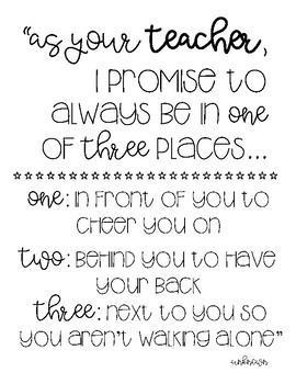 Teacher Promise