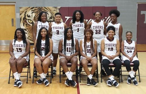 THS Lady Tigers basketball team