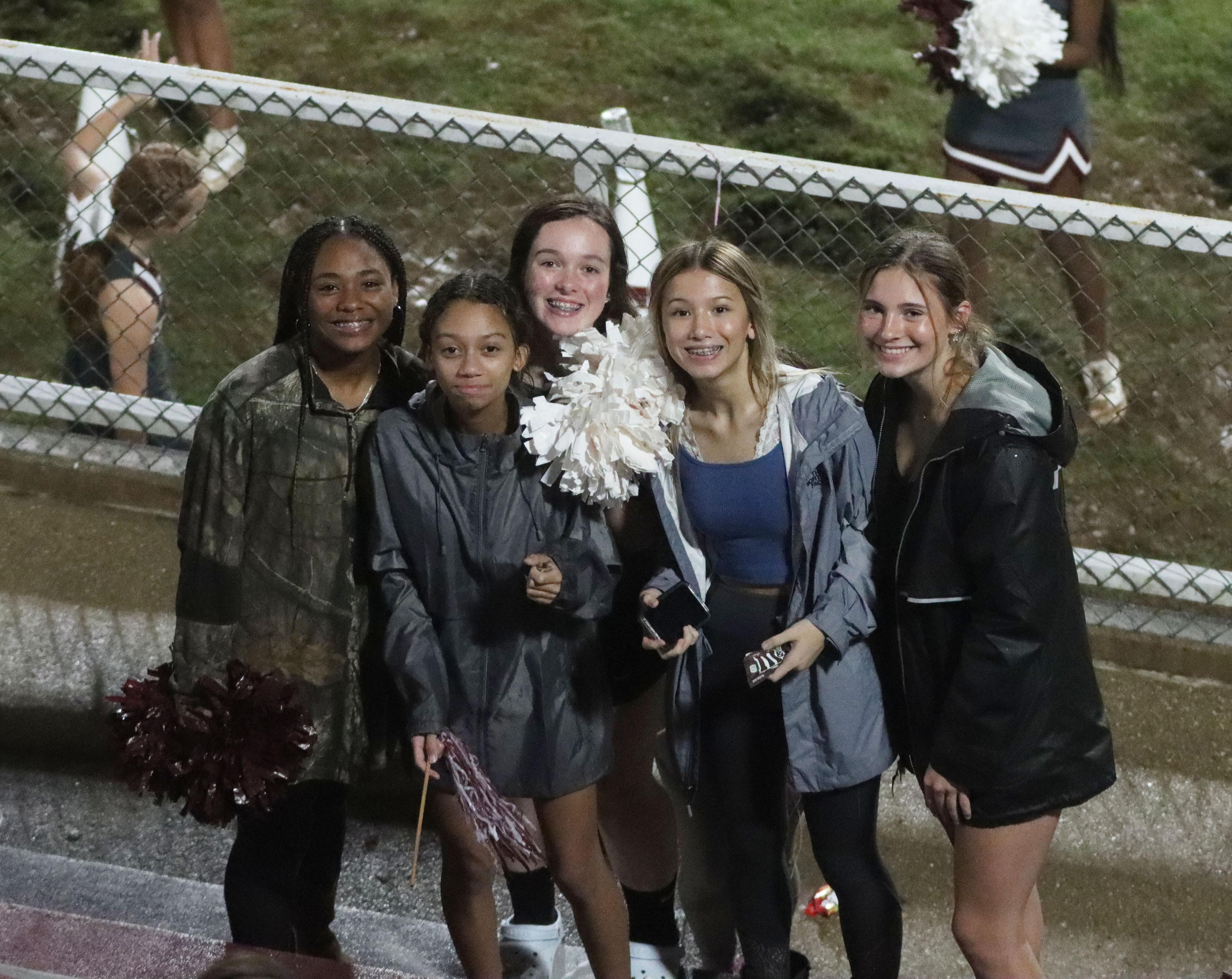 Students at jamboree game 2021