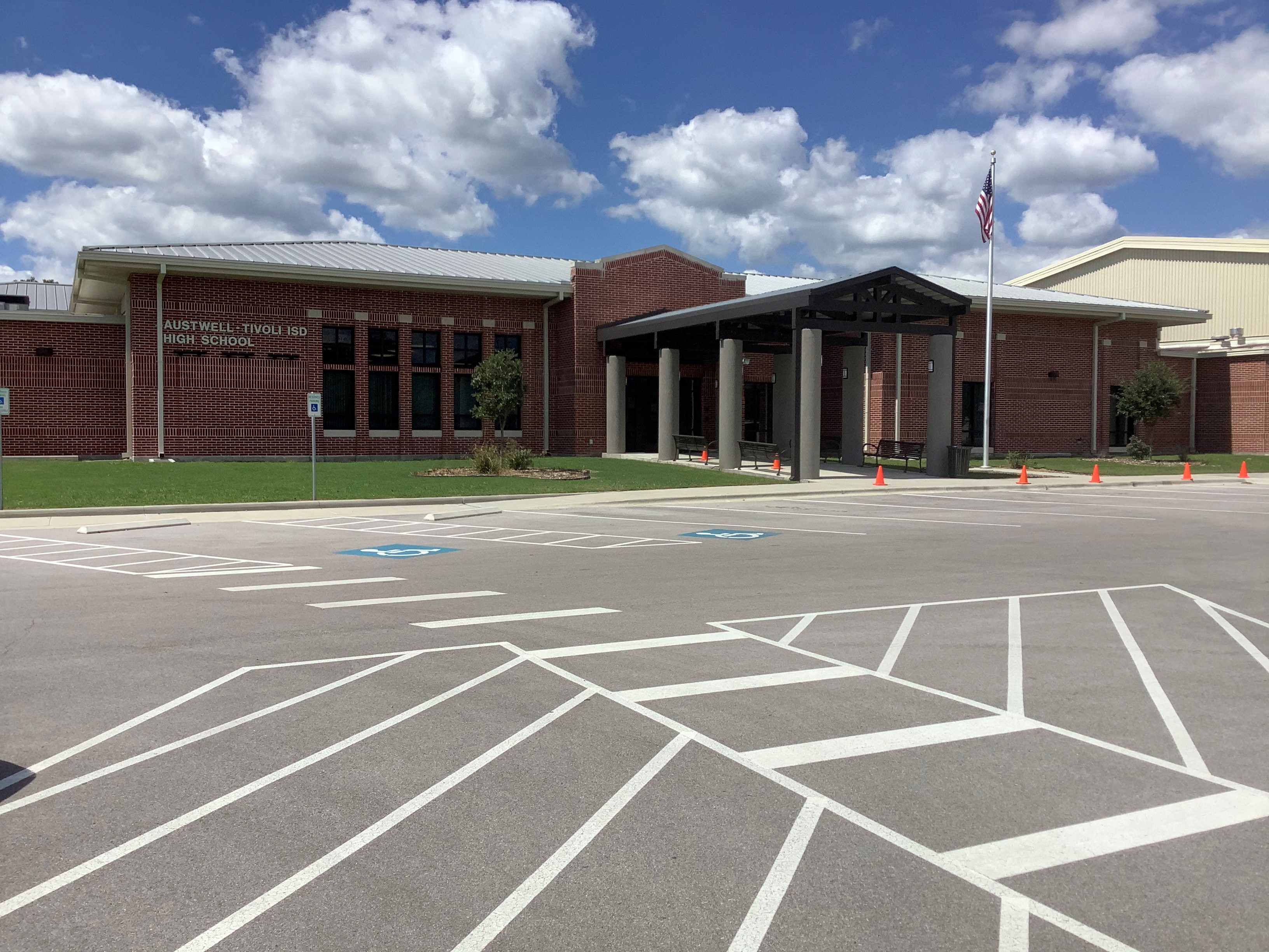 Austwell-Tivoli High School Entrance