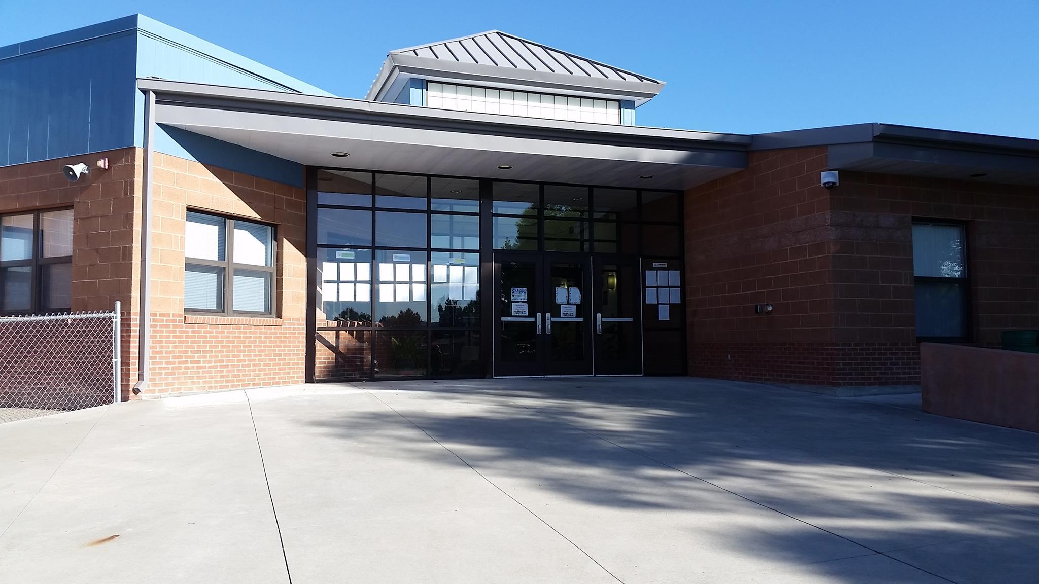 Main Entrance of school