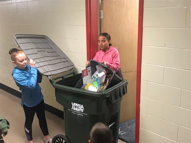 LMES recylcing program