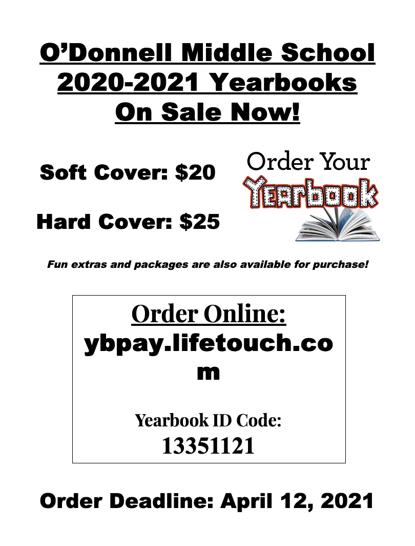 Order Your Yearbook poster
