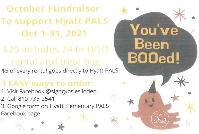 Hyatt Fundraiser Flyer
