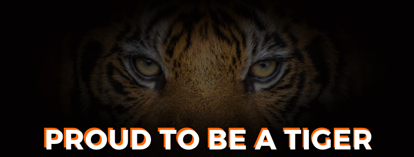 Proud to be a Tiger
