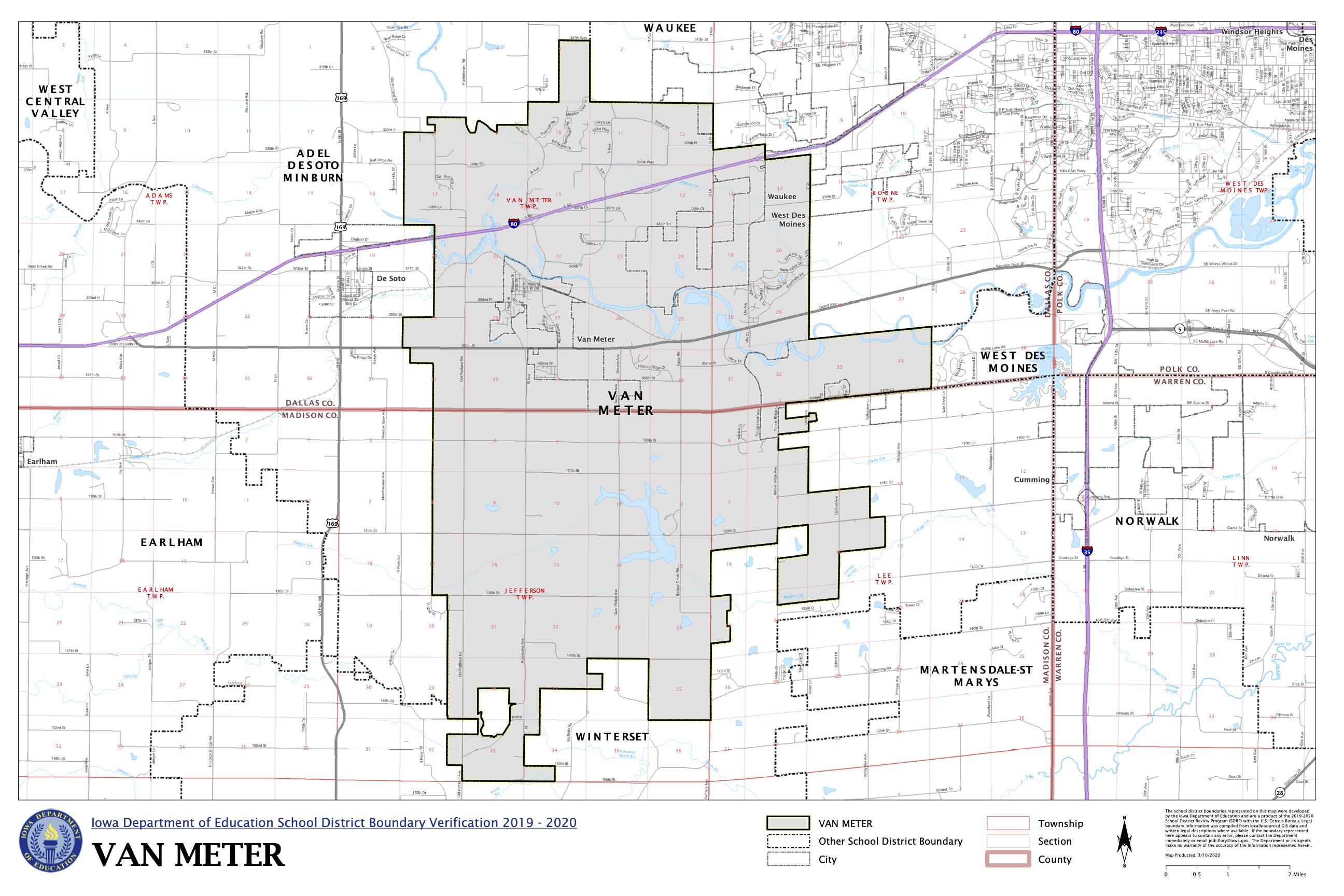 VM District Map