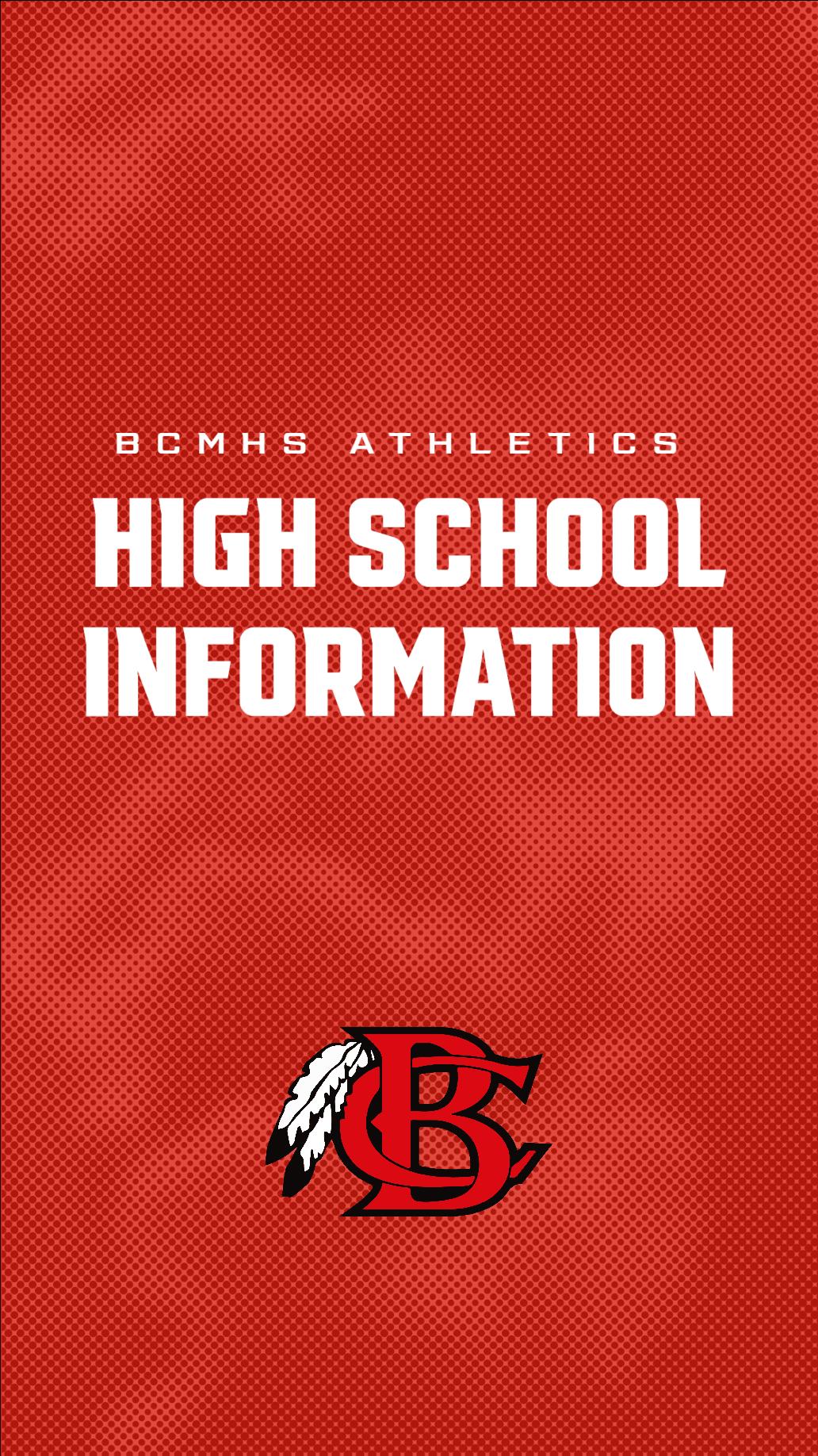 High School Athletics Information Banner