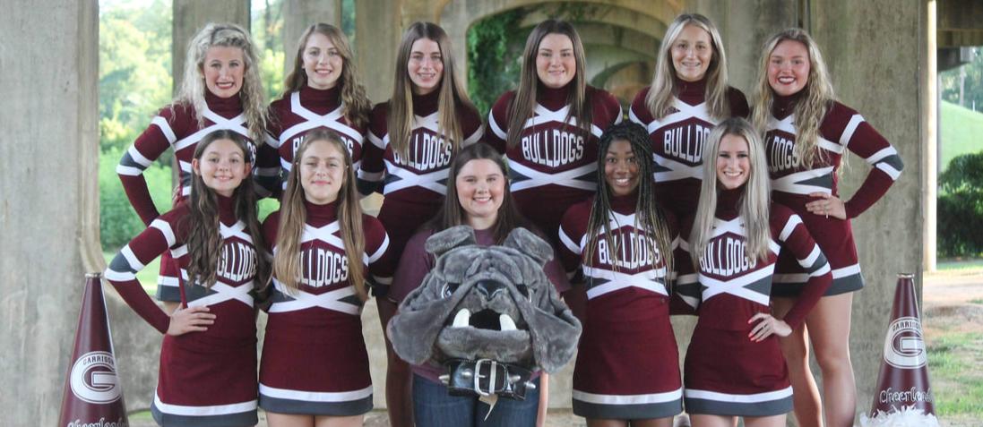 GHS Cheerleaders 2021-22