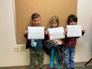 Rewards Assemblies each week
