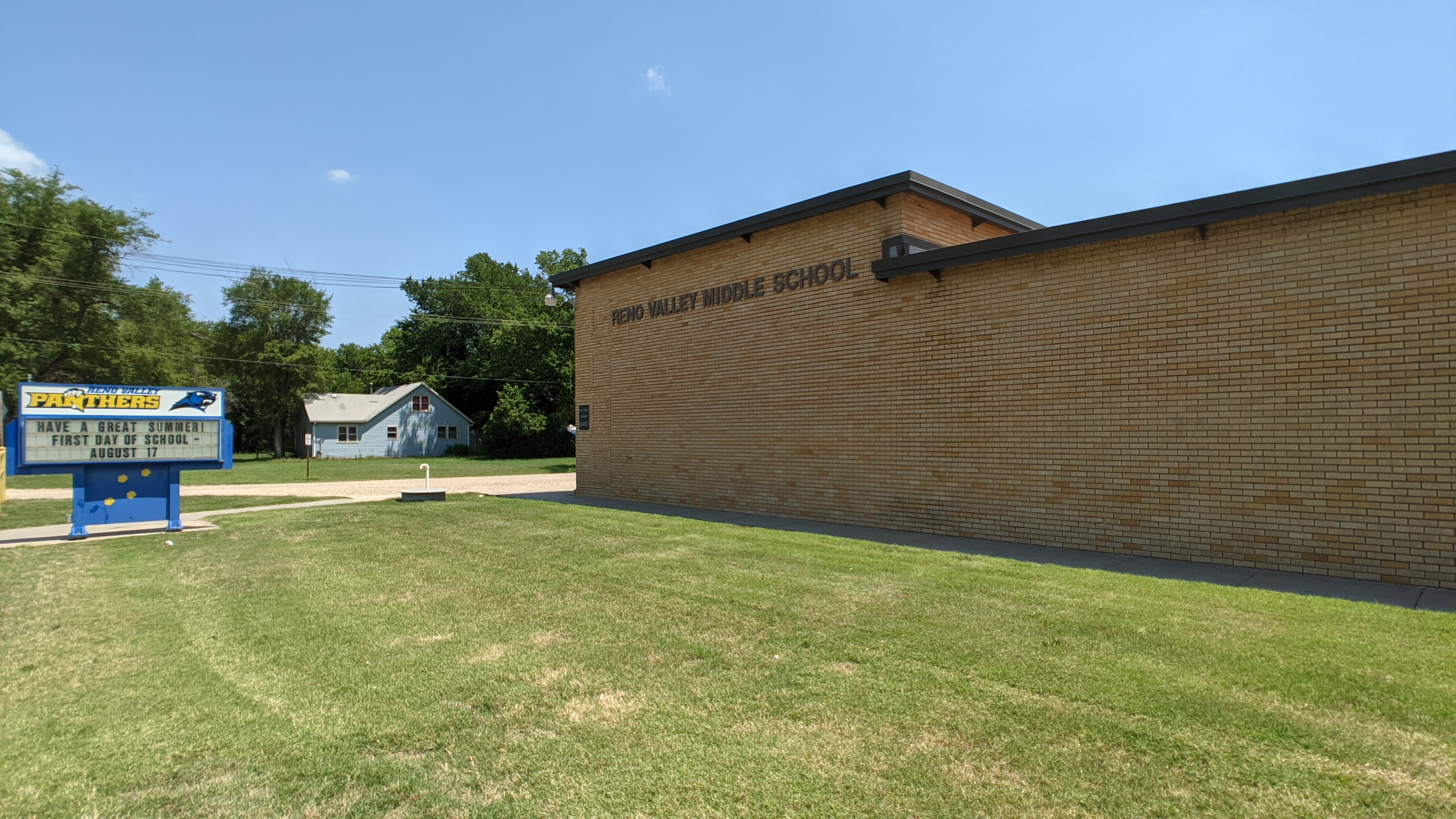 RVMS-West Building Sign