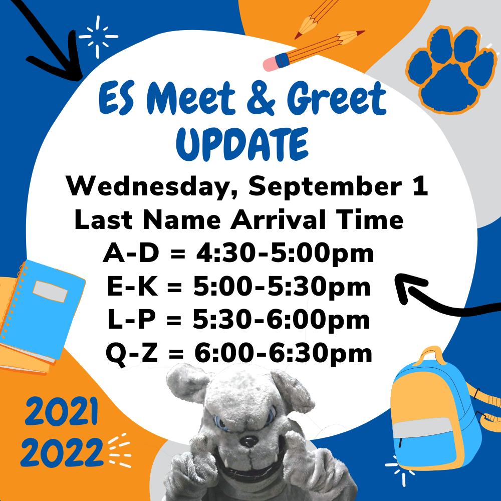 ES meet and greet