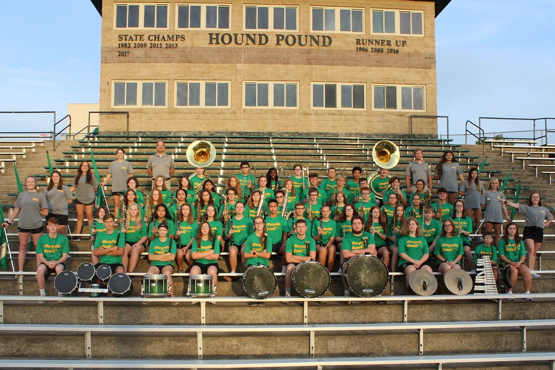 2019 Marching Spoofhound Band