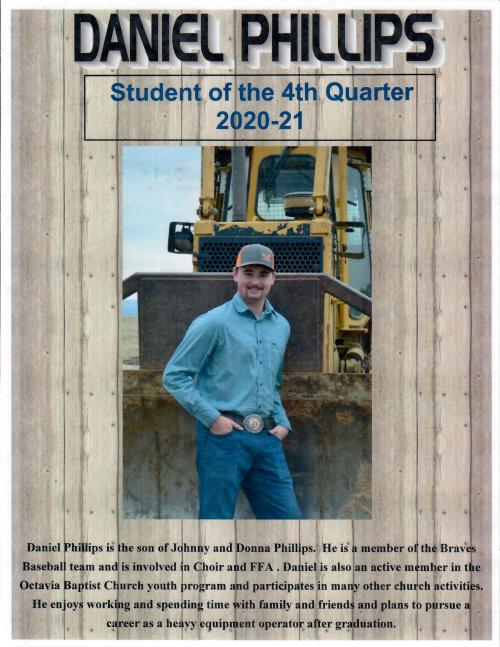 Student of the Quarter