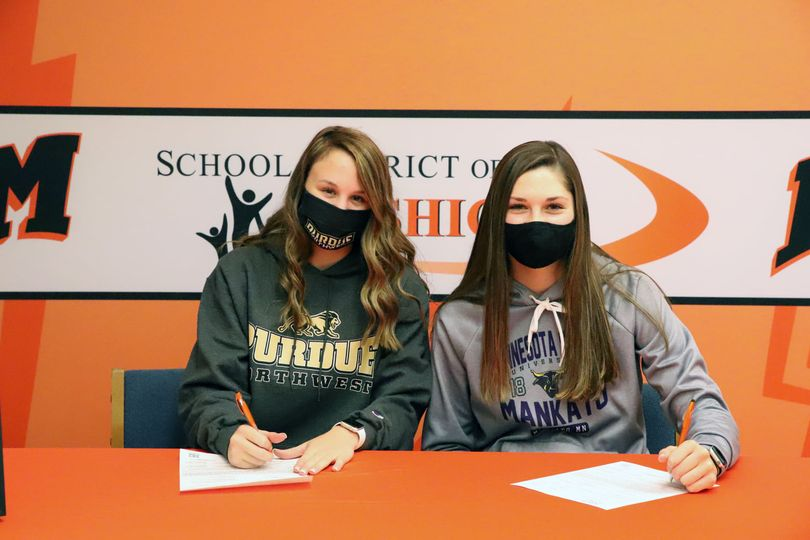 Signing Day - Kylie and Desiree
