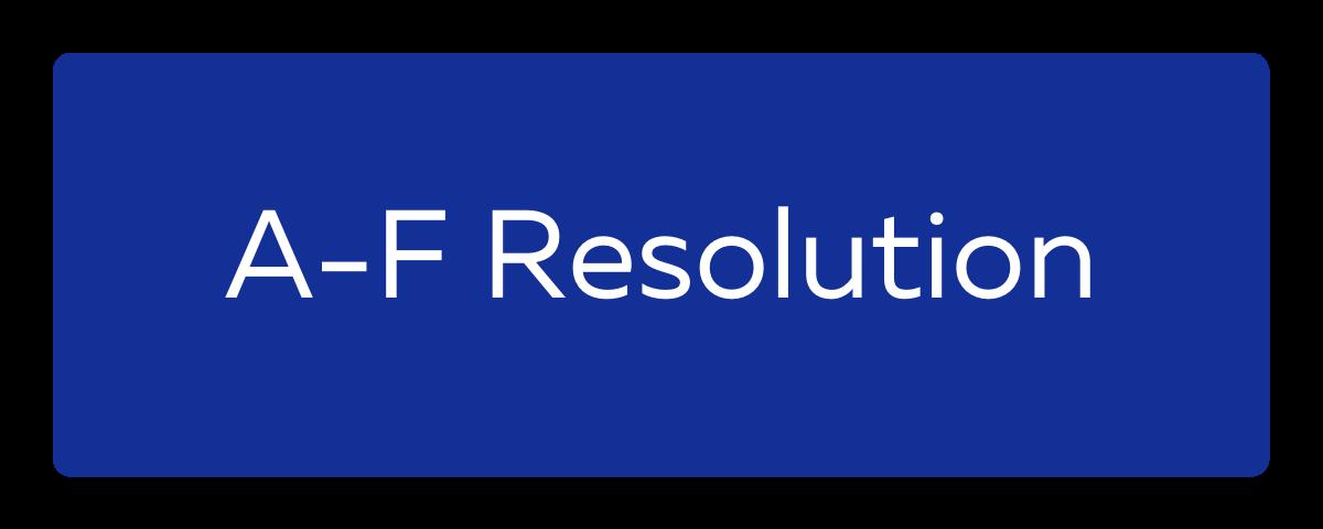 A-F Resolution