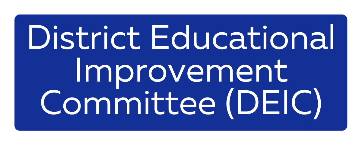 District Educational Improvement Committee (DEIC)