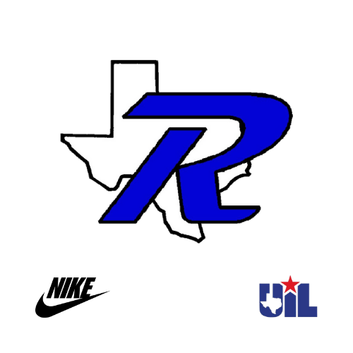 Texas R with Nike logo and UIL logo