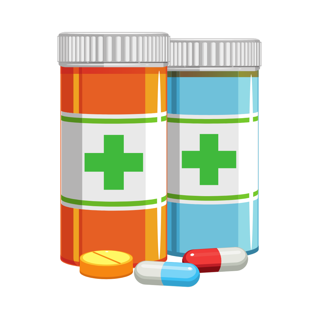 medicine canisters