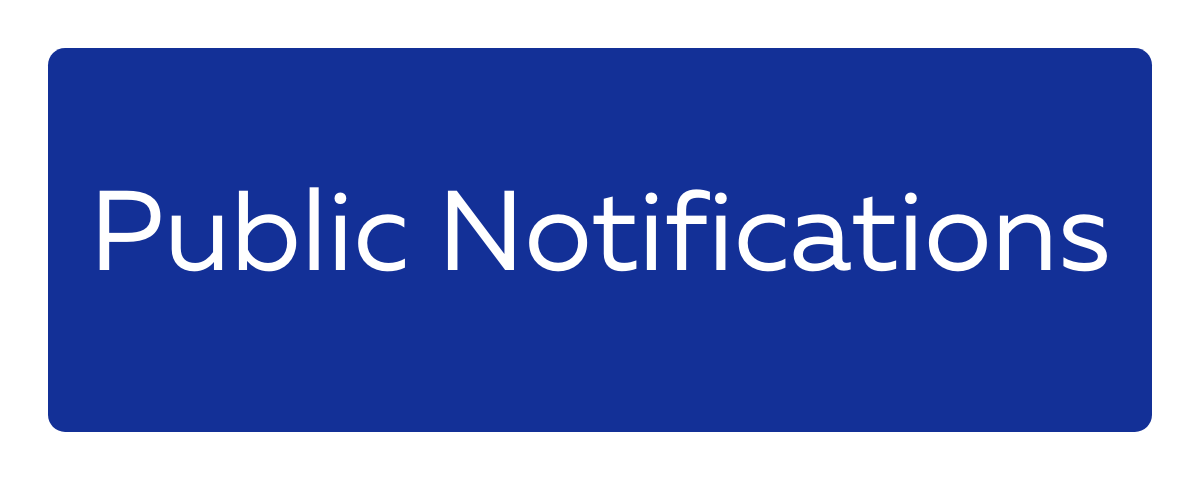 Public Notifications