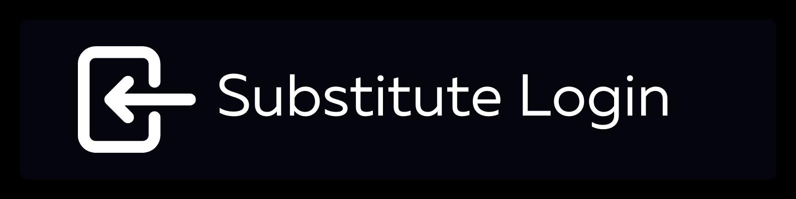 Substitute Login Button