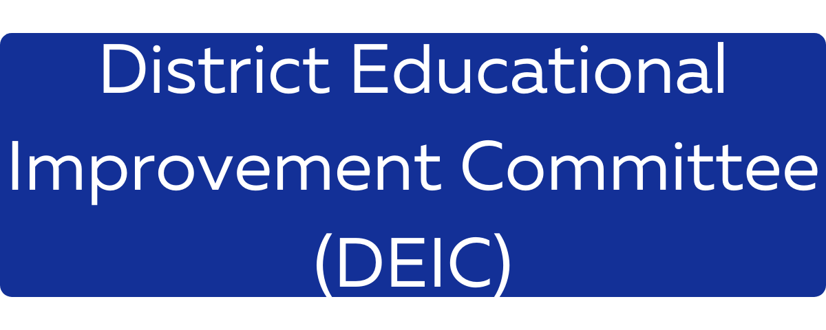 District Educational Improvement Committee (DEIC) Button