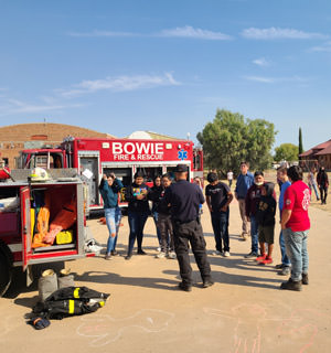 Bowie firefighters exposition