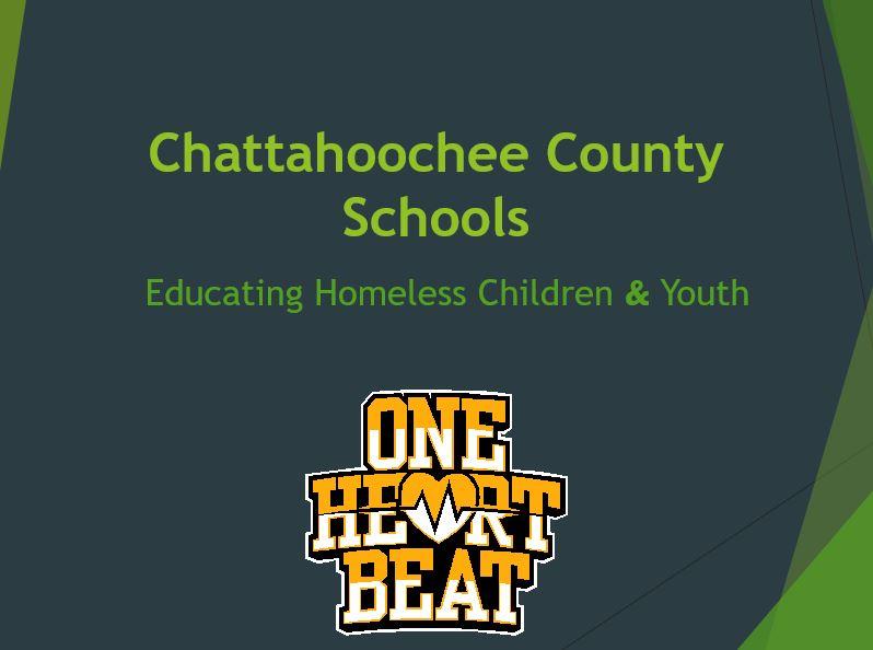 CHATTAHOOCHEE COUNTY SCHOOLS - ONE HEART BEAT
