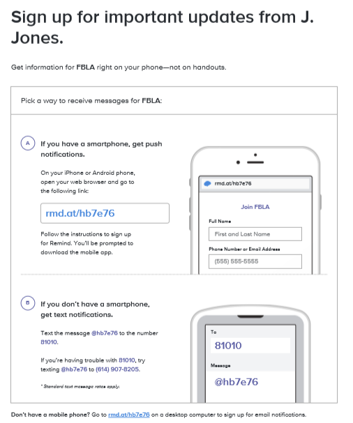 SIGN UP FOR IMPORTANT UPDATED FROM J. JONES.