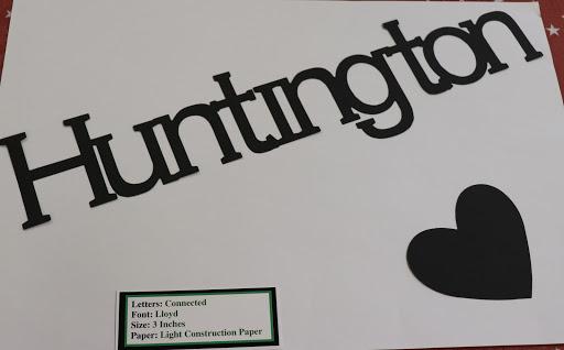 Die Cut Huntington
