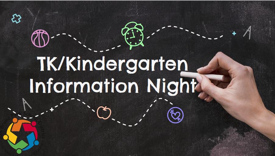 TK/Kindergarten Information Night