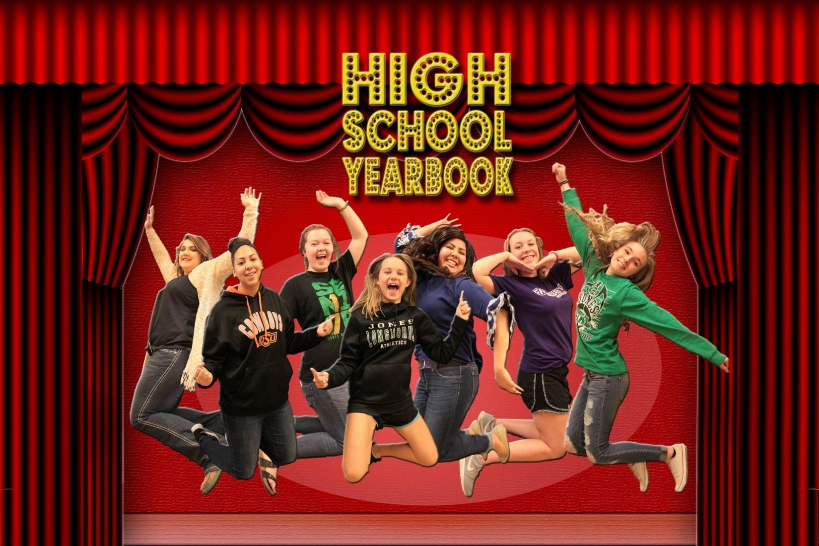 High school yearbook