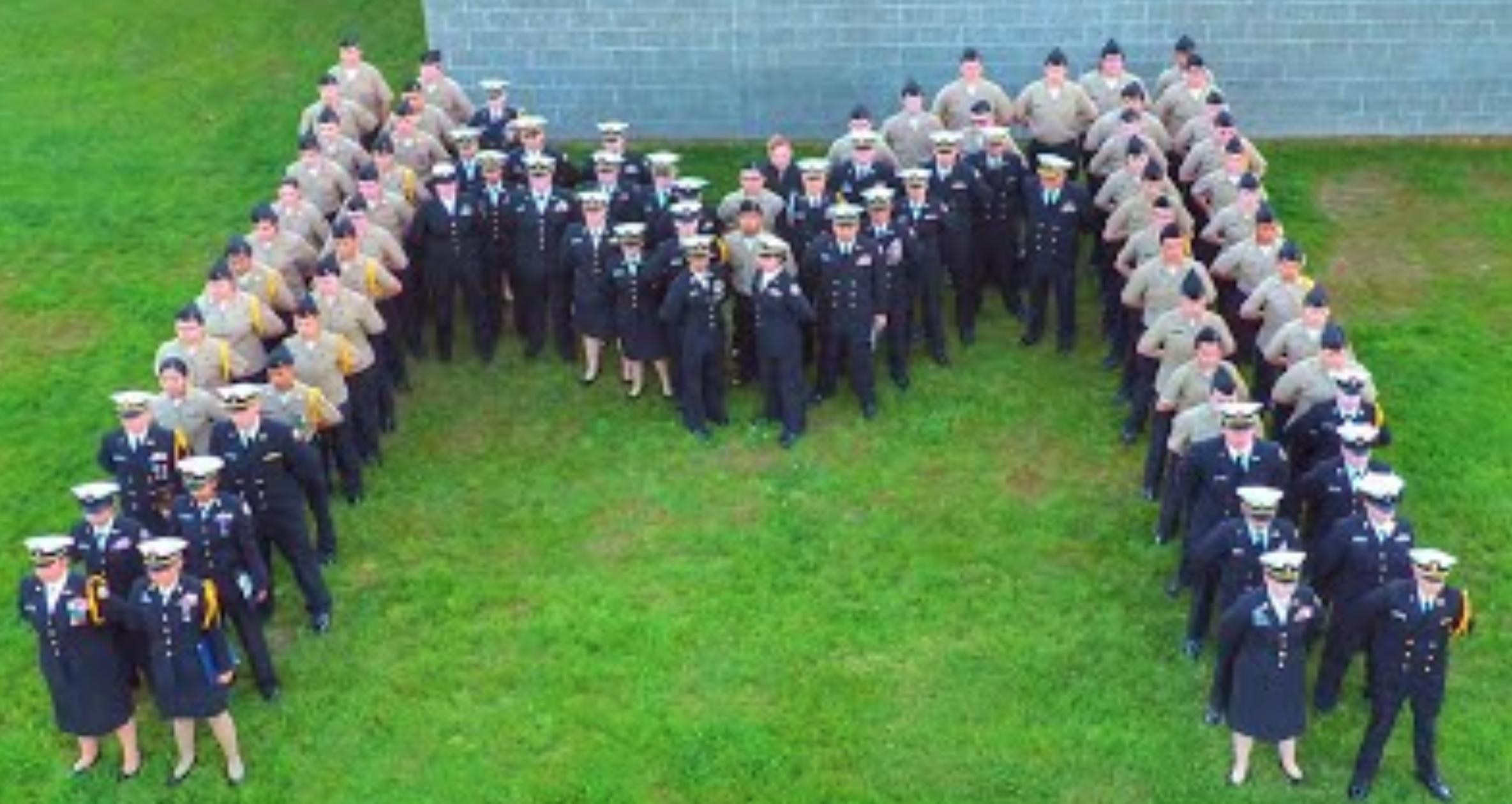 MARYSVILLE NAVY JUNIOR RESERVE OFFICERS TRAINING CORPS