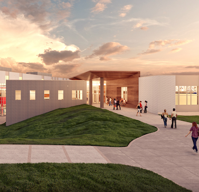 Artist rendering of the CELA project