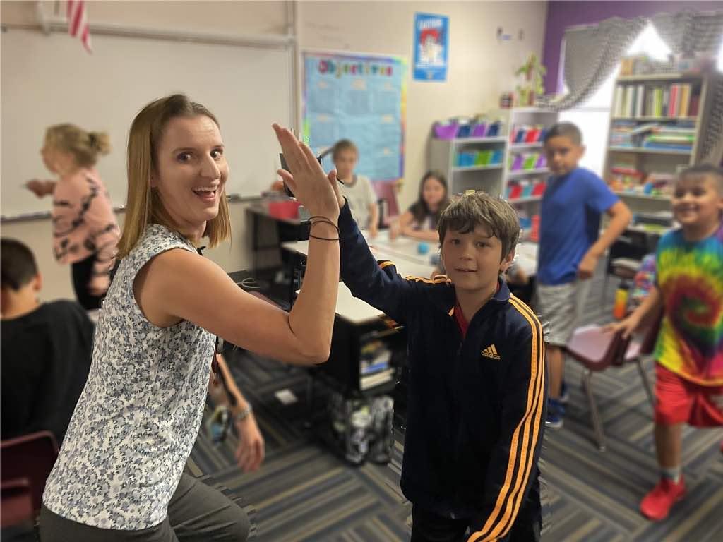 Teacher High Five