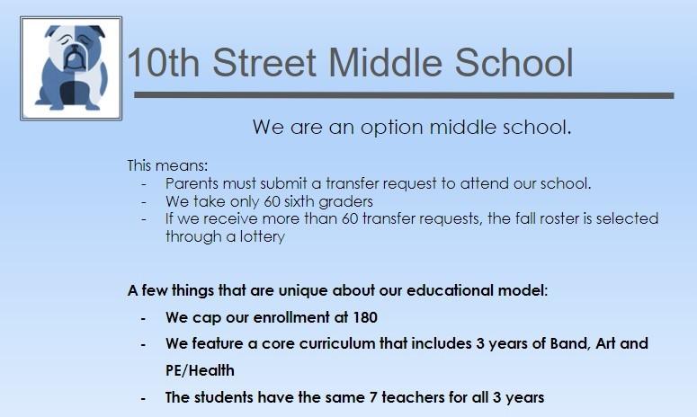 10th Street Middle School