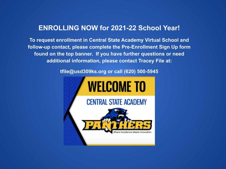 CSA-Gallery Enrollment Message