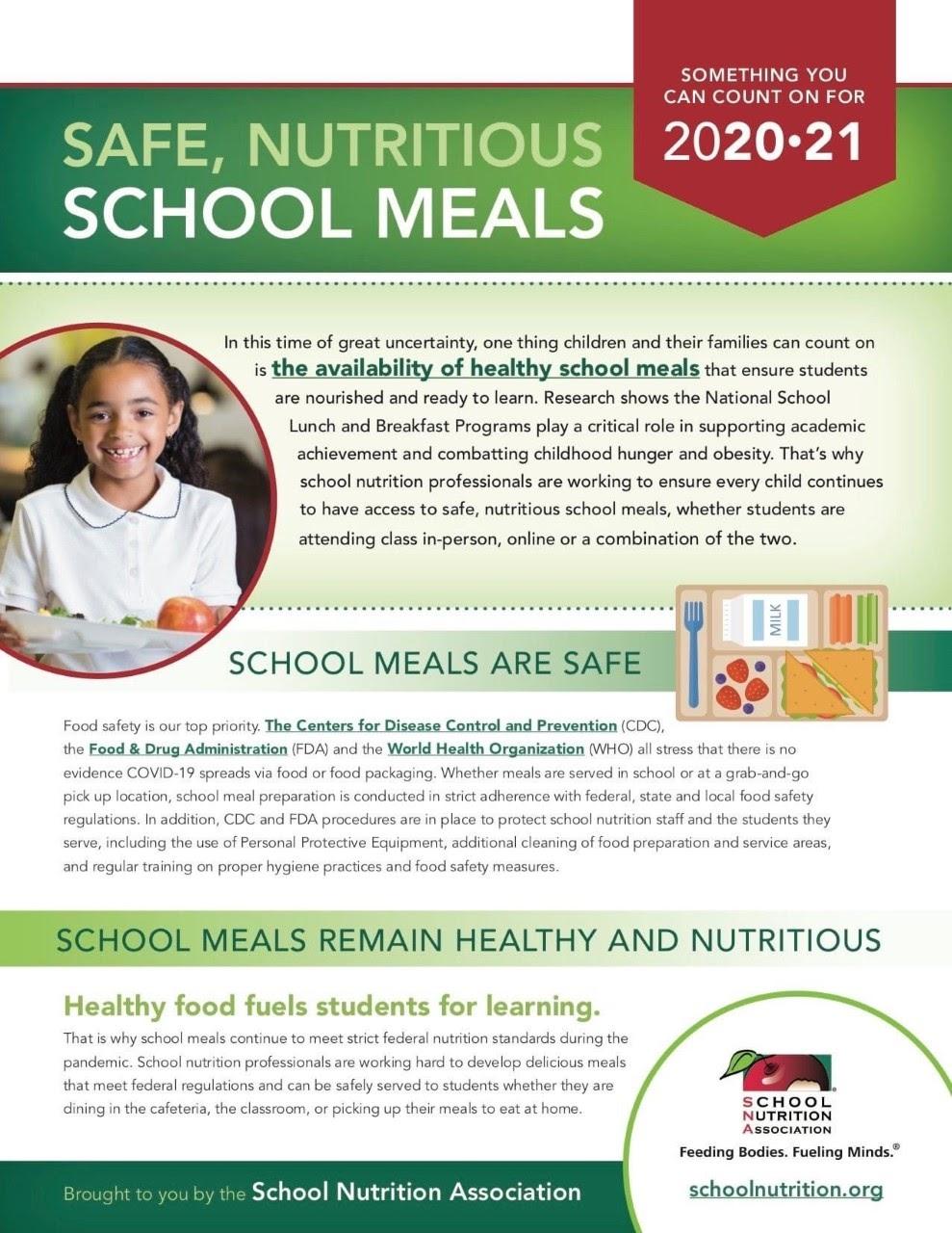 School Meals Info