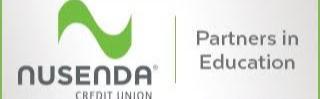 nusenda credit union partner in education logo