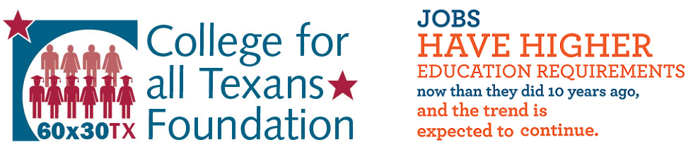 College For All Texans logo graphic