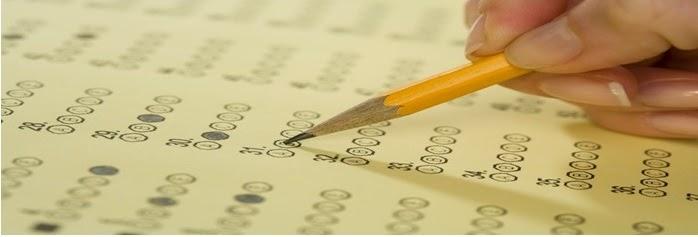 pencil filling in test bubble