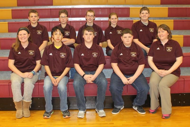 Schuyler R-1 Junior High Campus Bowl Team Picture
