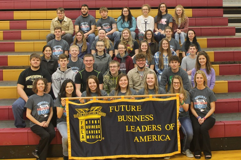 Schuyler R-1 FBLA Group Picture
