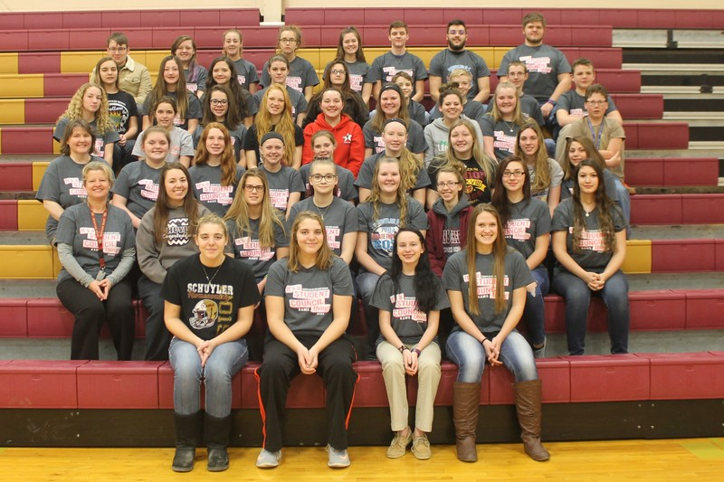 Schuyler R-1 Student Council Group Picture