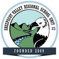 An image of the Sheepscot Valley district logo.