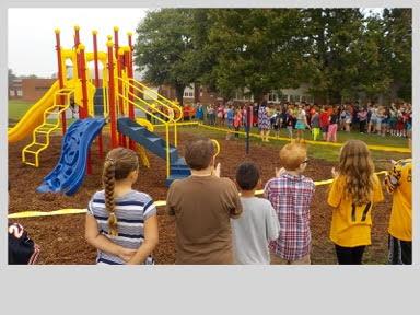 photo of PCES new playground