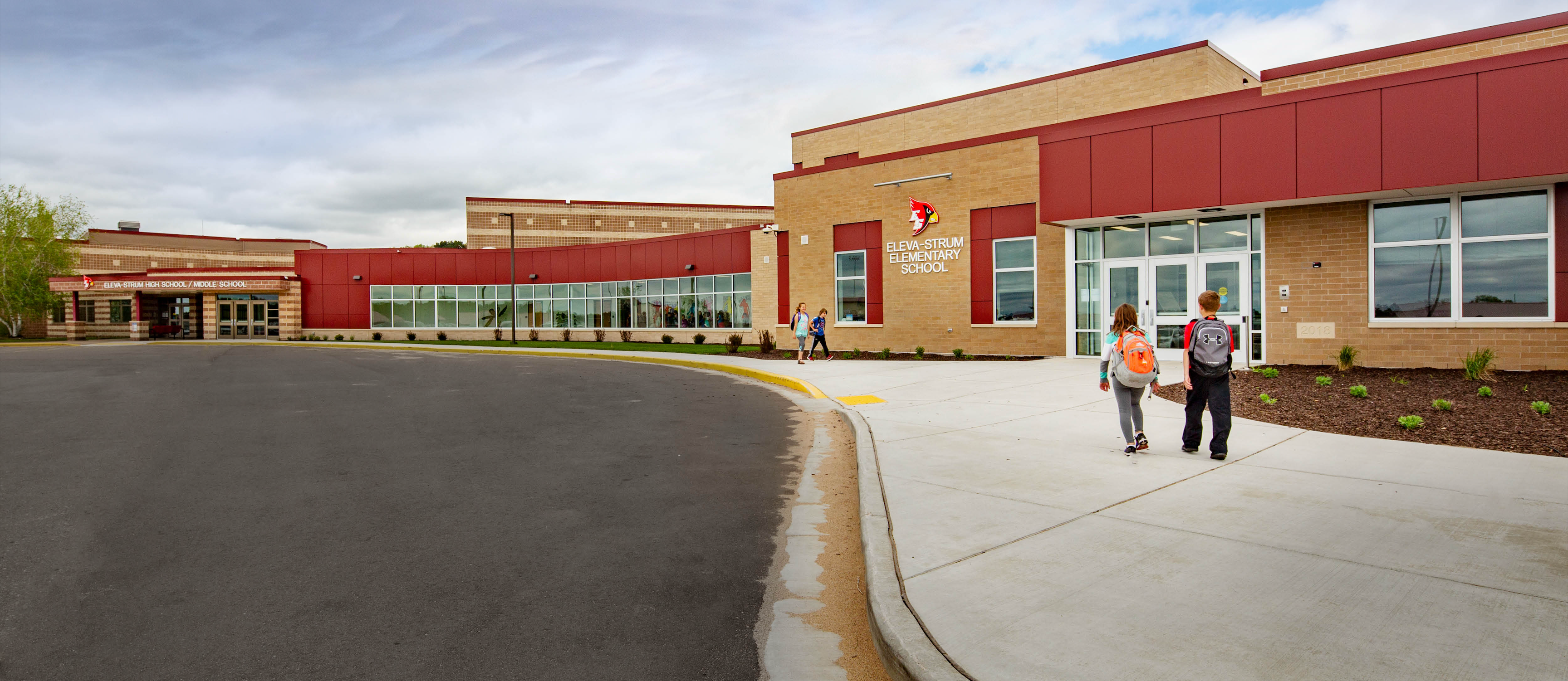 Picture of exterior of school