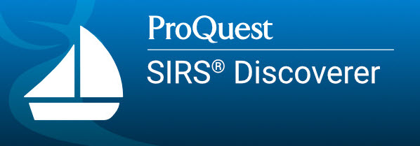 ProQuest SIRS Discoverer button
