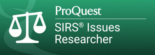ProQuest SIRS Researcher button