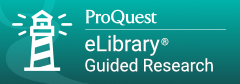 ProQuest eLibrary button