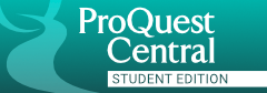 ProQuest Central button
